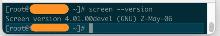 using Screen on Linux